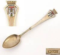 Сувенирная серебряная ложка HANNOVER, Германия, серебро 800 KFK, фото 1