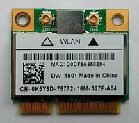 WiFi адаптер Dell Latitude E5420, E5420M, Broadcom BCM94313HMG2L, DW 1501, CN-0K5Y6D, бу