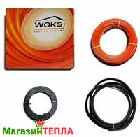 Теплый пол в стяжку Woks-17 (Украина) - двужильный нагревательный кабель, фото 1