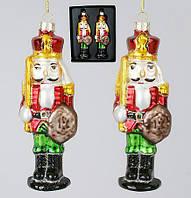 Набор елочных игрушек Солдатики (2 шт) 12см 172-955