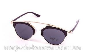 Солнцезащитные очки Черные (9010-1)