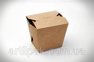 Коробка для лапші 105*85*65 КРАФТ 750/500г