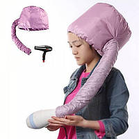 Термо-колпак для сушки волос феном