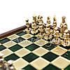Шахматы «Византийская Империя», зеленые, Manopoulos, 20х20 см (088-0101SK), фото 3