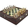 Шахматы «Византийская Империя», зеленые, Manopoulos, 20х20 см (088-0101SK), фото 5