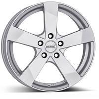 Литые диски Dezent TD R17 W7 PCD5x105 ET41 DIA56.6 Silver