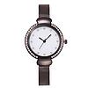 Женские часы графитовые с браслетом Миланского Плетения Mesh Straps, фото 3