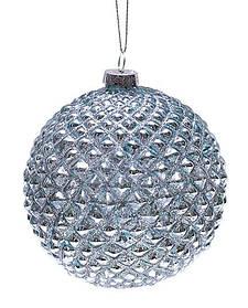 Набор шаров 10см (2шт) состаренный голубой NY37-247