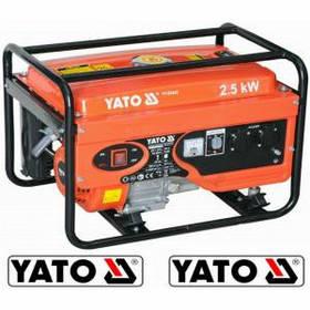 Бензиновый генератор 220В., 2,5 кВт., бак 15л., YATO YT-85432