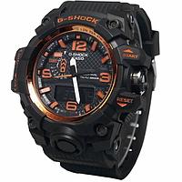 Копия спортивных часов Casio G-Shock GWG-1000 Black Orange