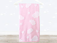 Детское полотенце 70х120 Irya Cloud розовое, фото 1
