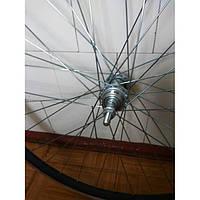 """Заднее колесо для велосипеда на промподшипниках 26"""" под V-brake тормоза"""