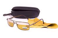 Очки для водителей с футляром Коричневые (F8888)