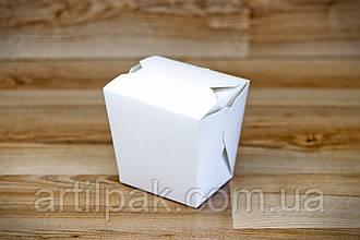 Коробка для лапші 105*85*65 БІЛА 750/500г