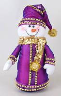 Новогодняя мягкая игрушка Снеговик 30см SN30-21