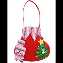 Стильная сумочка для новогодних подарков и конфет