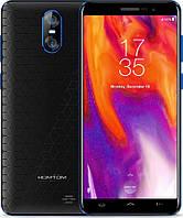 """Смартфон Homtom S12 Black-Blue, 1/8Gb, 8+2/5Мп, MTK6580, 4 ядра, 2sim, 5"""" IPS, 2750mAh, GPS, 3G, фото 1"""