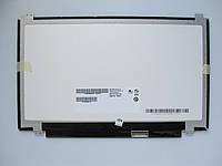 Матрица для ноутбука 11,6 Led Slim глянцевая 1366x768 30pin lvds разъем справа внизу (со стороны платы) N116BGE-EA2 вертикальные ушки нов.