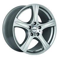 Ronal R55 R20 W9.5 PCD5x112 ET55 DIA66.6 crystal silver