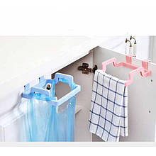 Держатель пакетов, полотенца, перчаток с креплением в дверцу кухни