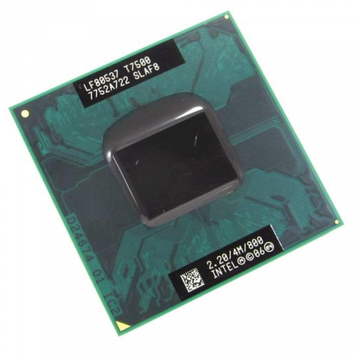 Процессор Intel Core 2 Duo T7500 2 ядра 2.2ГГц PPGA478 PBGA479