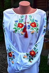 """Вишиванка блуза """"Квіткова"""""""