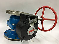 Кран шаровый DN100 (AISI304) с редуктором
