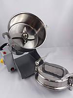 Бытовая мини мельница для зерна, муки, специй электро / мукомолка