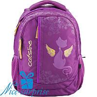 Модный школьный рюкзак для девочки Kite Junior K18-855M-2 (5-9 класс), фото 1