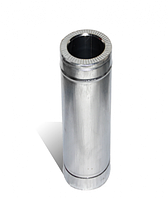 Дымоходная труба сэндвич 120/220мм нерж/оц 0.25м