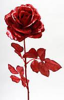 Декоративная ветка Роза, 70см NY21-152