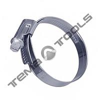 Хомут червячный TORK 8-12 мм W2 стальной нержавеющий