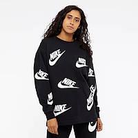 0d689e47 Женская Толстовка Nike Sportswear Futura Crew AA3142-010 (Оригинал)