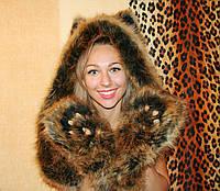 Шапка,spirithood, зверошапка, волкошапка, модный аксессуар, шапка с ушками , Модель Лиса Алиса