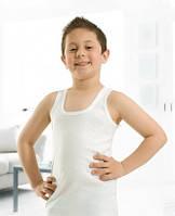 Майка детская Ozkan 7-8 лет белая, фото 1