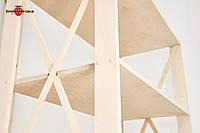 Стеллаж деревянный складской, торговый стеллаж, стеллаж в магазин, полки, стеллаж для дома, стеллаж для книг