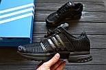 Мужские кроссовки Adidas ClimaCool Black. Живое фото (Реплика ААА+), фото 6