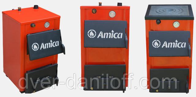 Твердотопливный котел Amica Optima 14, 14p, 18, 18P