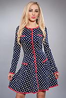 Платье женское модель №354-2,р.40,46 коралл