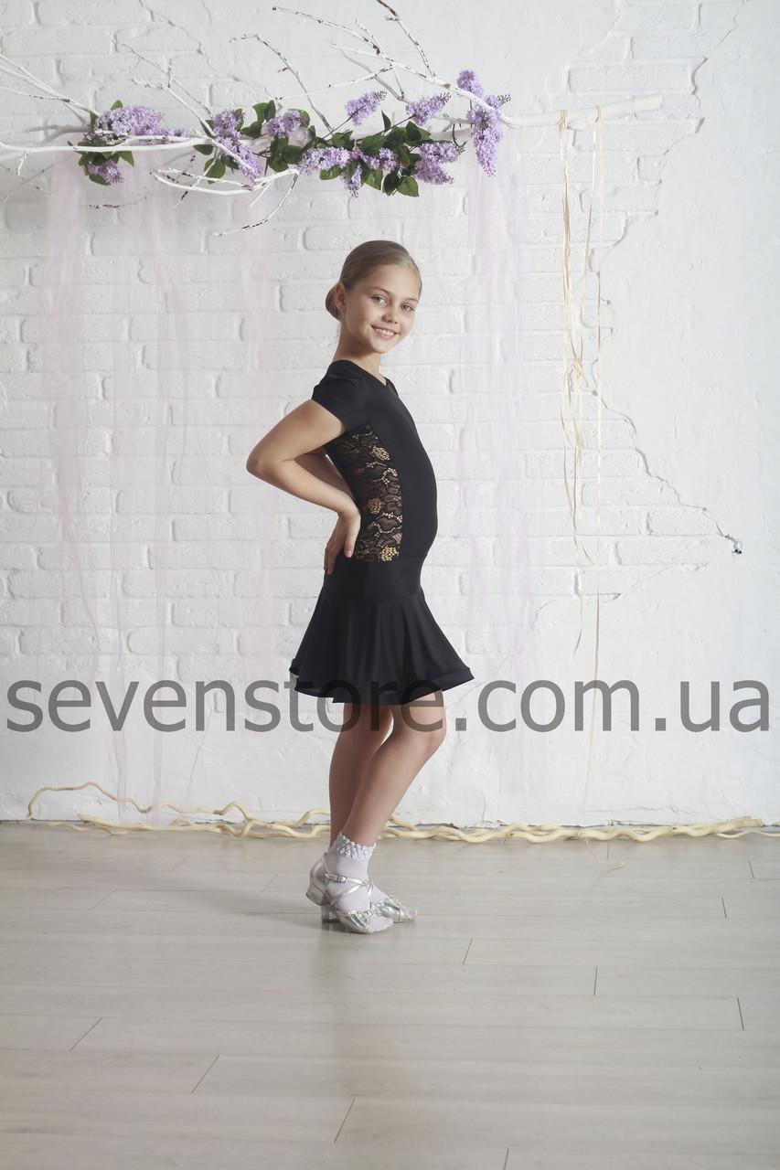 Платье  для танцев  Sevenstore 8103 Черное