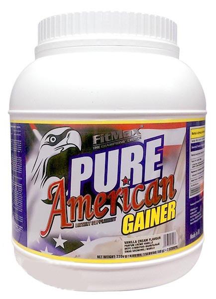 Гейнер FitMax Pure American Gainer 2200g