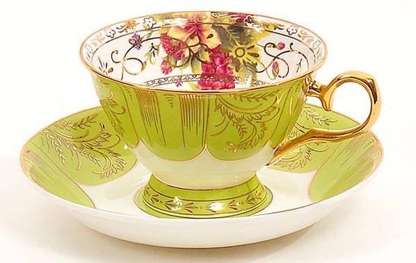 Чашка фарфоровая 180мл с блюдцем 282-A95, фото 2