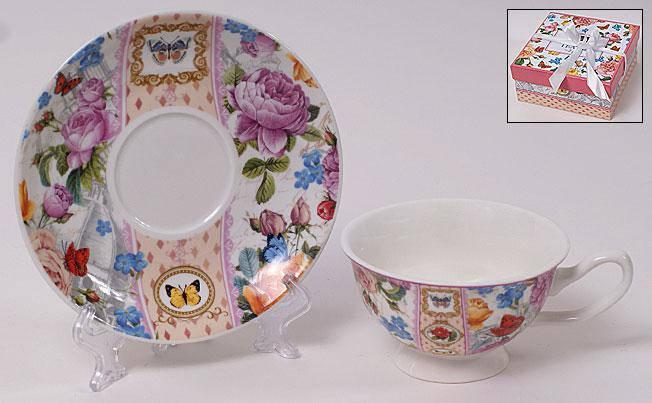 Набор: чашка 180мл с блюдцем 290-121, фото 2