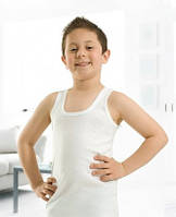 Майка детская Ozkan 9-10 лет белая