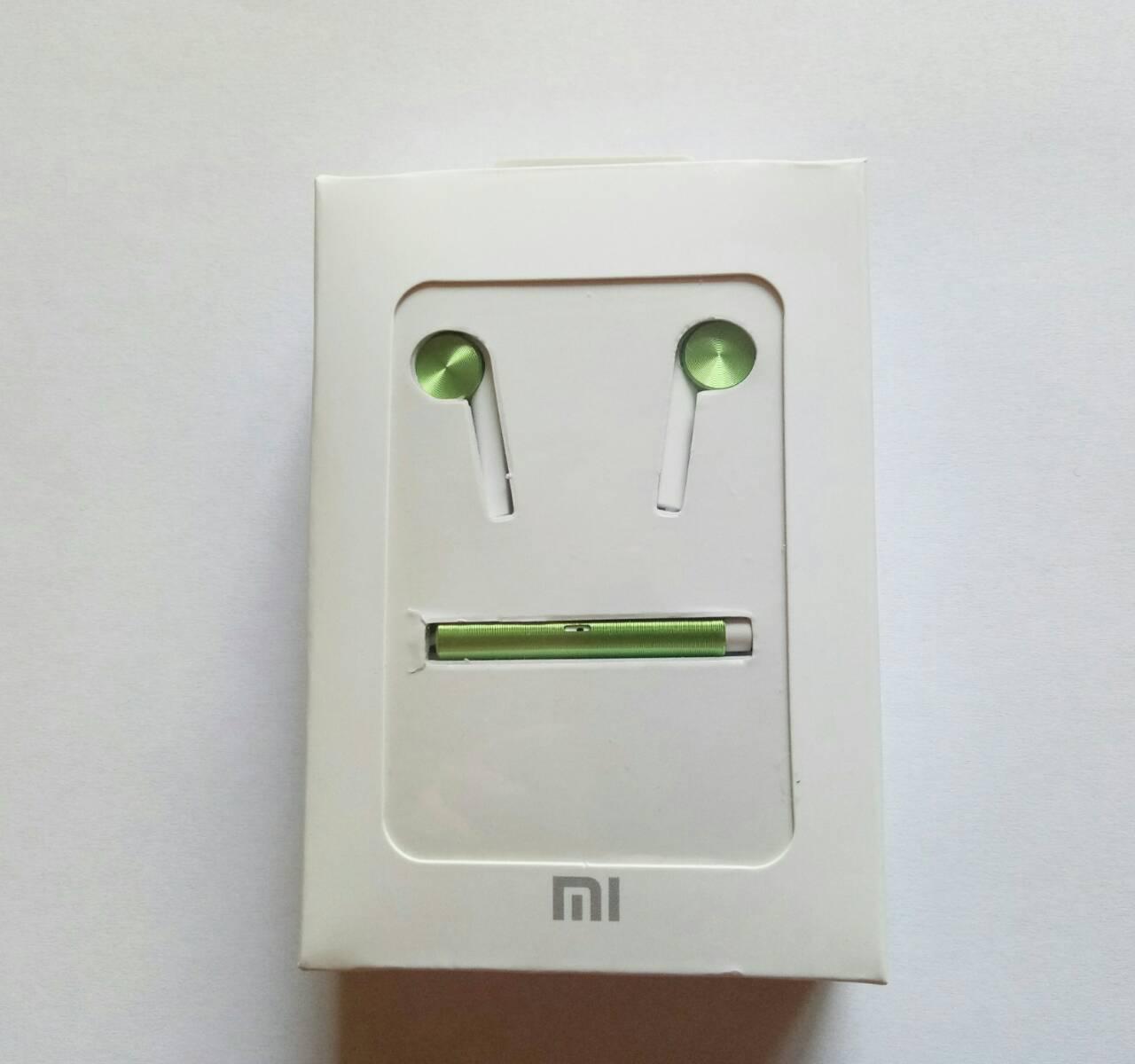 Наушники-гарнитура Xiaomi Piston 7 Hybrid PRO Copy (Зелёный)