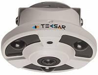 AHD Видеокамера купольная Tecsar AHDD-2Mp-10Fl-FE(fisheye)