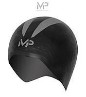 Распродажа! Стартовая шапочка для плавания Michael Phelps X-O Race Cap (Black/Silver)