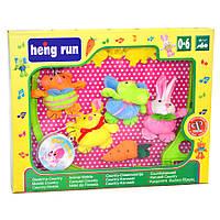 Мобиль карусель с мягкими игрушками на детскую кроватку