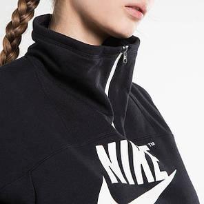 c81463a4 Женская Толстовка Nike Nsw Crew Half Zip Archive 855701-011 (Оригинал), фото