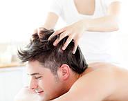 Классический массаж головы.